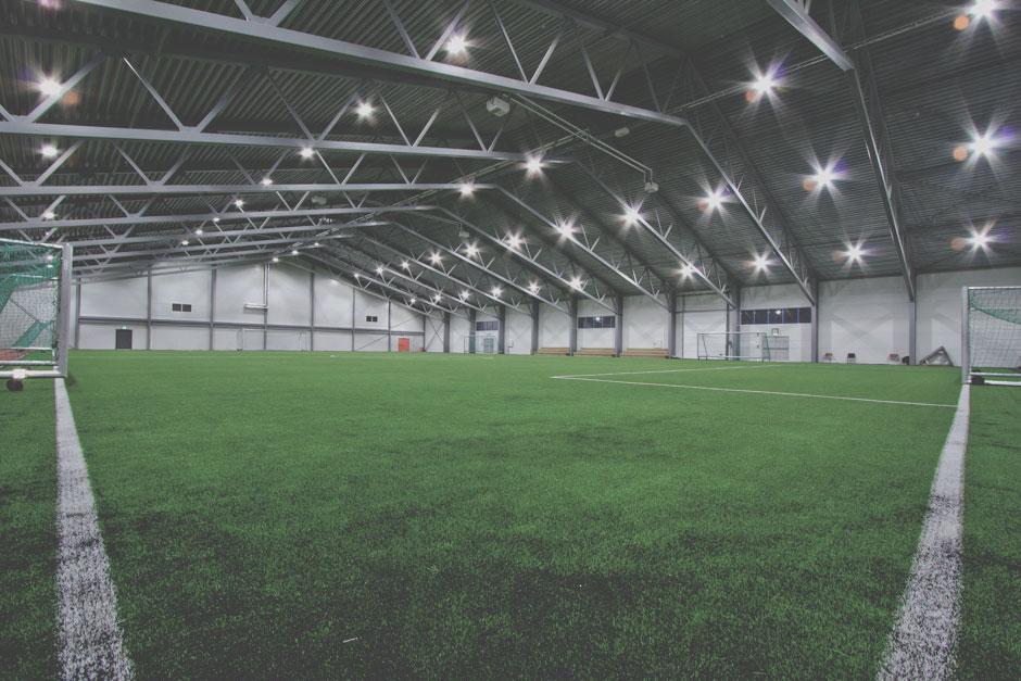 Fotballhall - 60 x 40 spilleflate