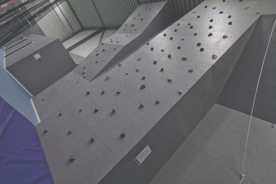 Klatrevegg - 9 meter høy