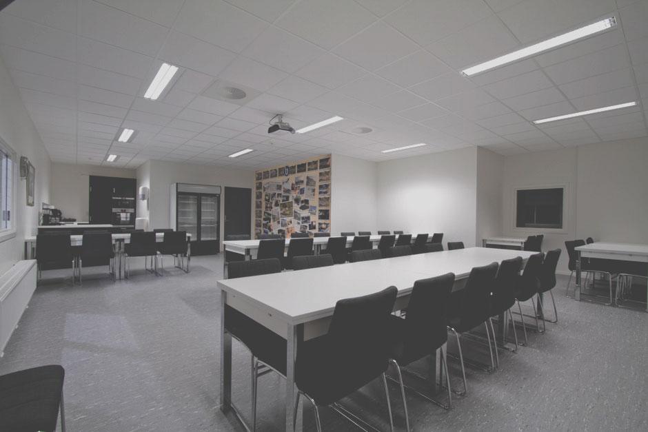 Møterom - Med kjøkken, TV og prosjektor